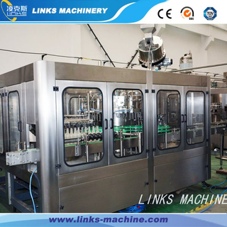 Automatic Glass Bottle Carbonated Drinks Filling Machine